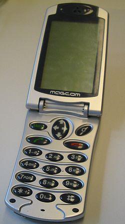 MagCom mobiltelefon.