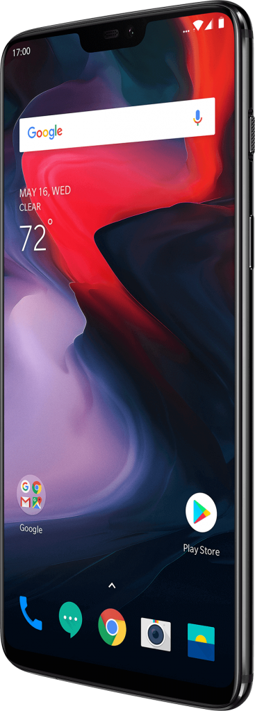 OnePlus 6 front.