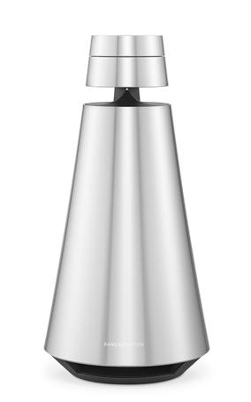 Høyttaleren er sølvgrå og formet som en sylinder som blir smalere fra bunnen og opp. Den øverste delen, ca. 1/5 av høyttaleren, er skilt fra resten med en centimeters mellomrom. En tynn stang holder delene sammen.