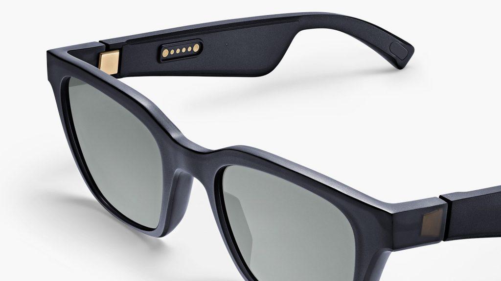 Bose frames alto solbriller i sort.